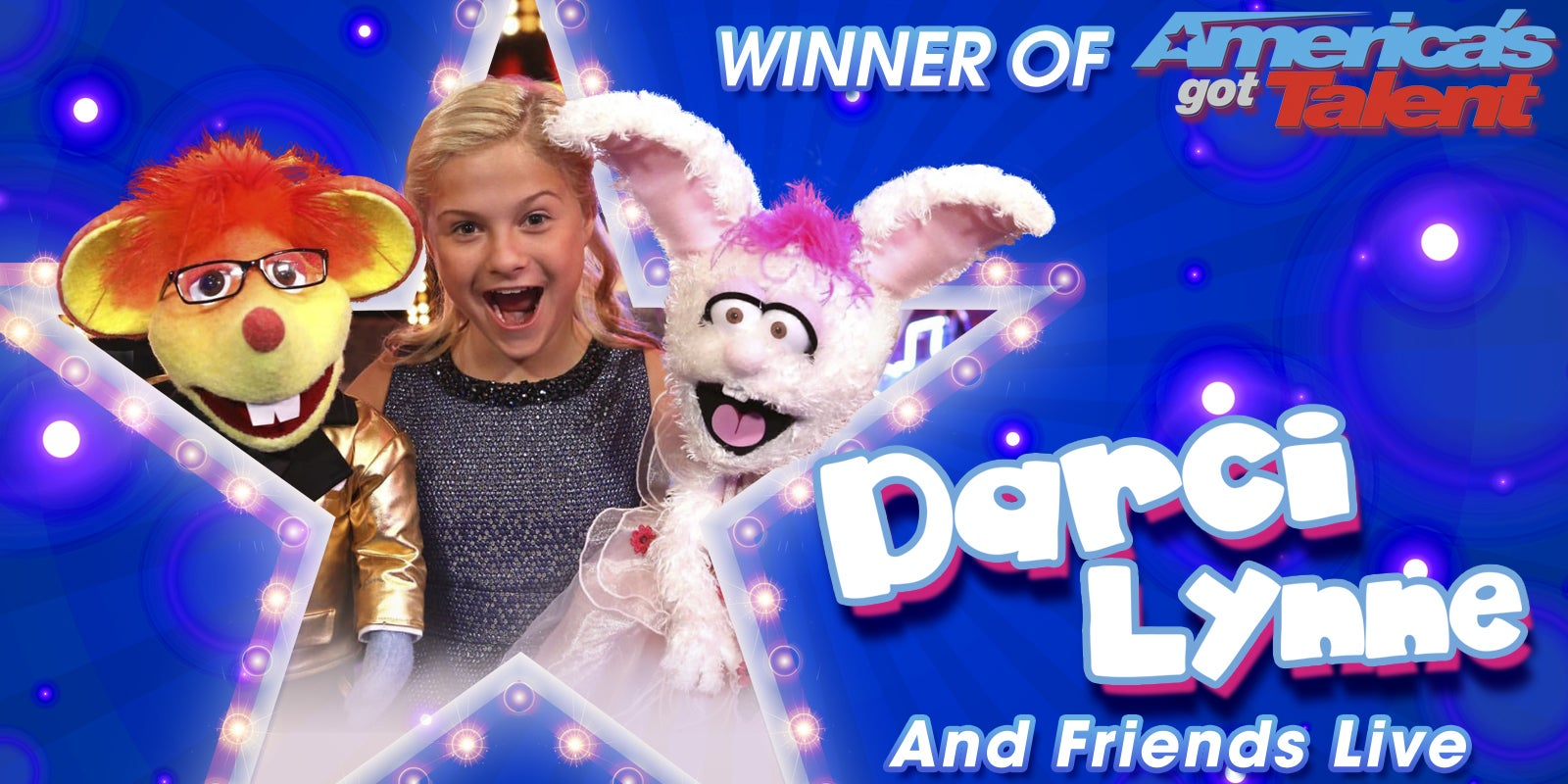 Darci Lynne And Friends Live Palace Theatre Albany