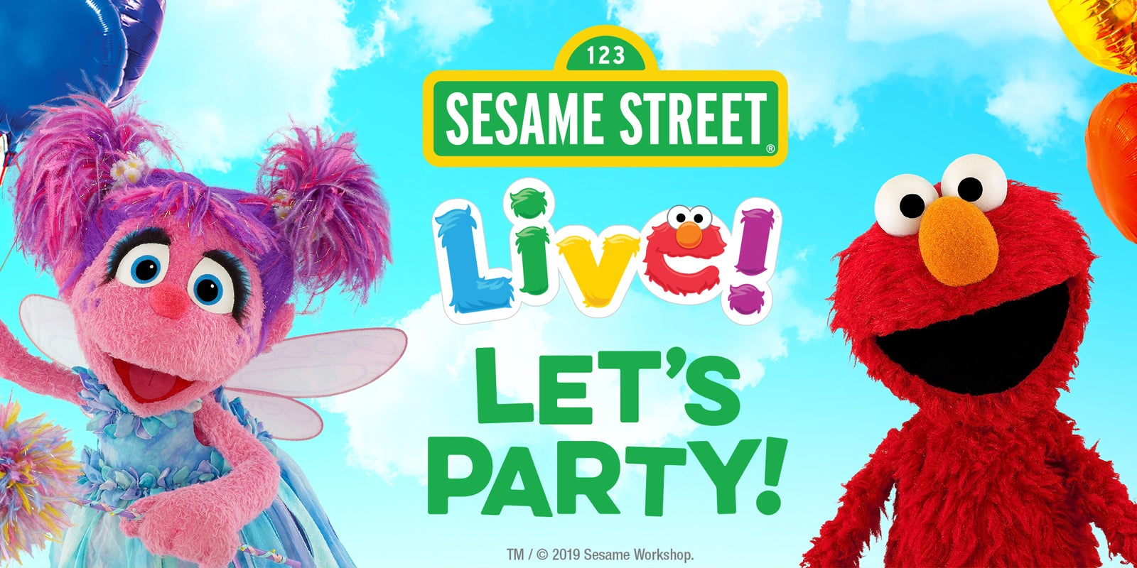 Sesame Street Live Let S Party Palace Theatre Albany